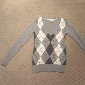 New listing! Argyle v-neck sweater